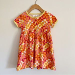 Hanna Andersson Dress Girls 4T Floral 100